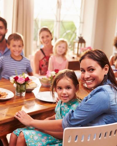 Sức khỏe gia đình và nội thất sạch