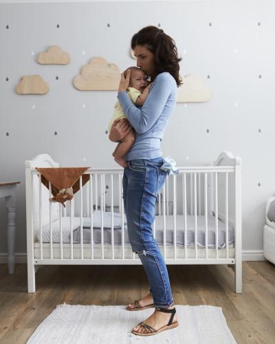 Sức khỏe trẻ sơ sinh và nội thất sạch