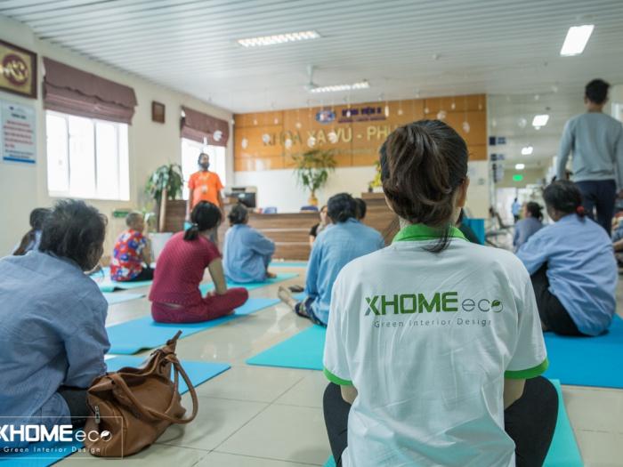 Yoga cảm hứng - Đối đầu ung thư XHOME Eco
