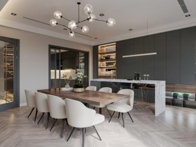 Mẫu bàn ăn sum họp gợi ý bởi kiến trúc sư XHOME Eco