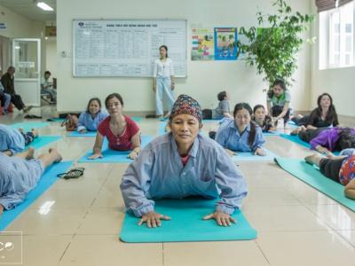 XHOME Eco đồng hành cùng lớp Yoga cảm hứng - Đối đầu ung thư